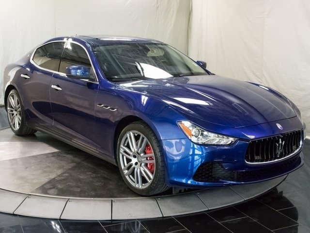 2017 Maserati Ghibli Gently Pre Owned For Sale Near Denver Colorado