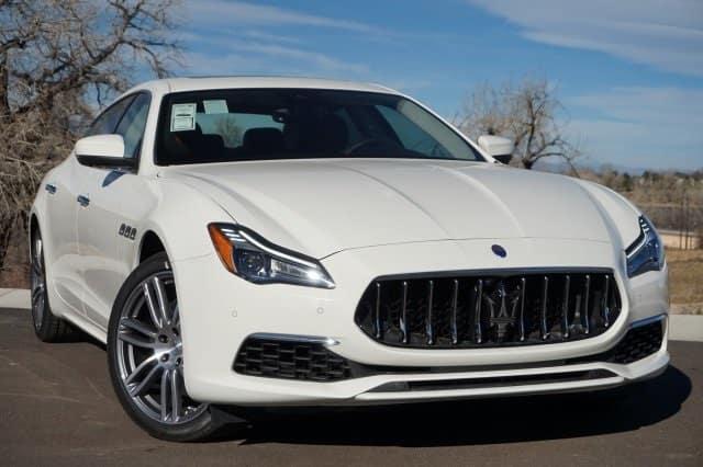 2018 Maserati Quattroporte AWD lease deal