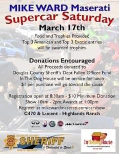 March 2018 Supercar Saturday