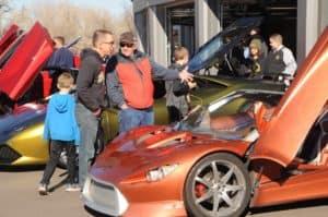 Mike Ward Maserati of Denver Car Show