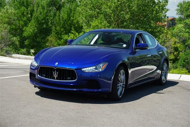 Certified Pre-Owned 2017 Maserati Ghibli luxury sedan for sale