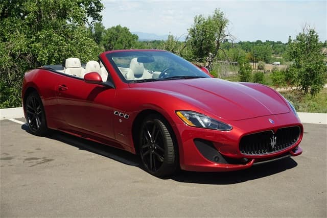 gently pre-owned 2015 maserati granturismo luxury convertible for sale