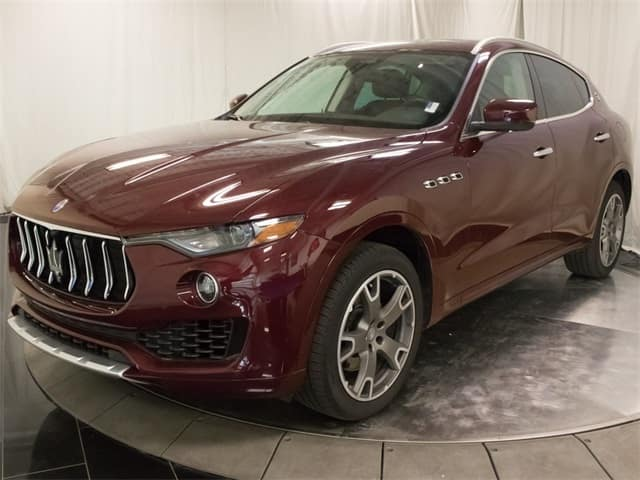 gently used 2017 maserati levante luxury performance suv for sale
