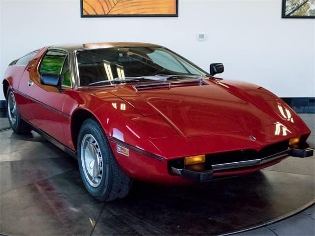 1973 Maserati Bora for sal