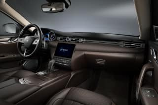 Maserati Quattroporte Zegna PELLETESSUTA Trim