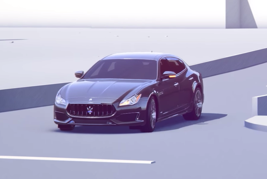 Maserati Pedestrian Emergency Braking