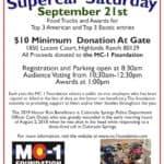 SuperCar Saturday on September 21 near Denver