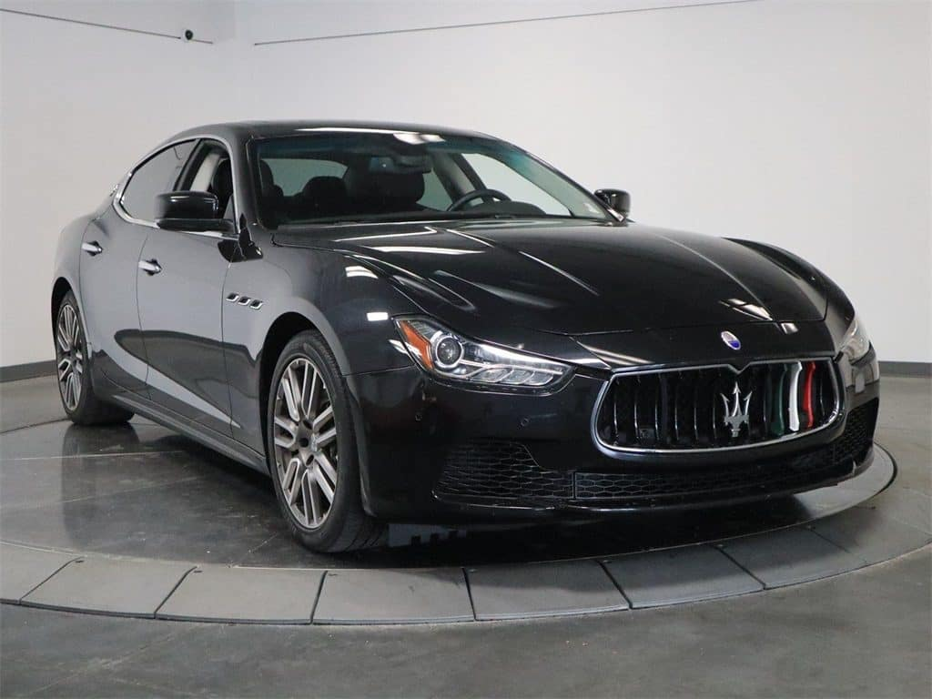 Gently used Maserati Ghibli