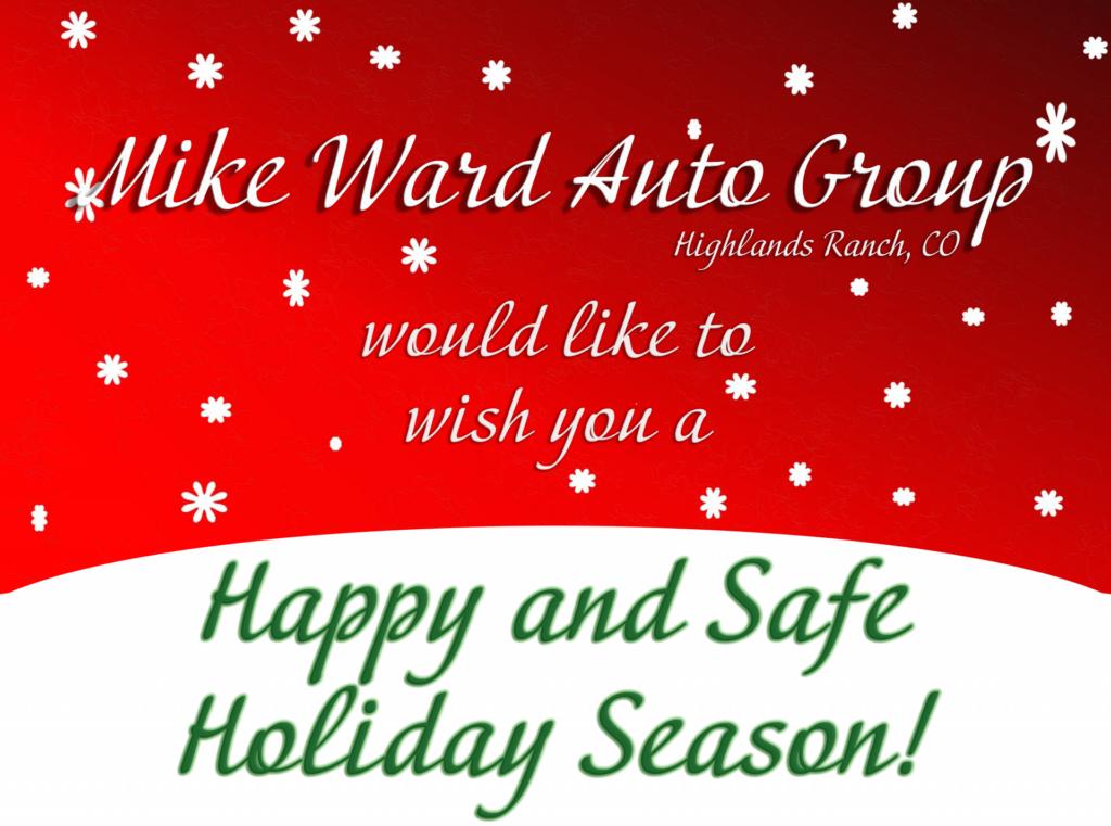 Mike Ward Maserati Holiday Hours