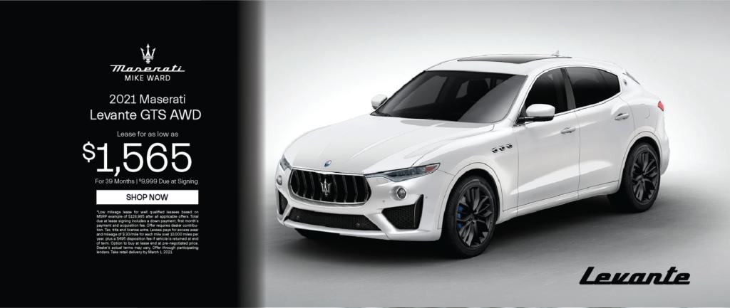 2021 Maserati Levante GTS AWD
