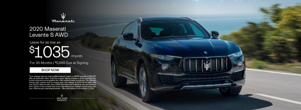2020 Maserati Levante S AWD