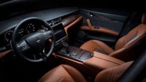 2021 Maserati Quattroporte sedan interior