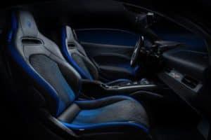 2021 Maserati MC20 Coupe interior