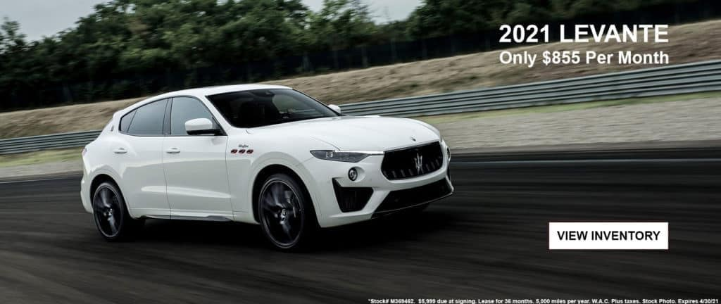 2021 Maserati Levante Lease Special in Highlands Ranch, CO