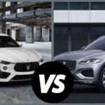 2021 Maserati Levante vs 2021 Jaguar F-Pace