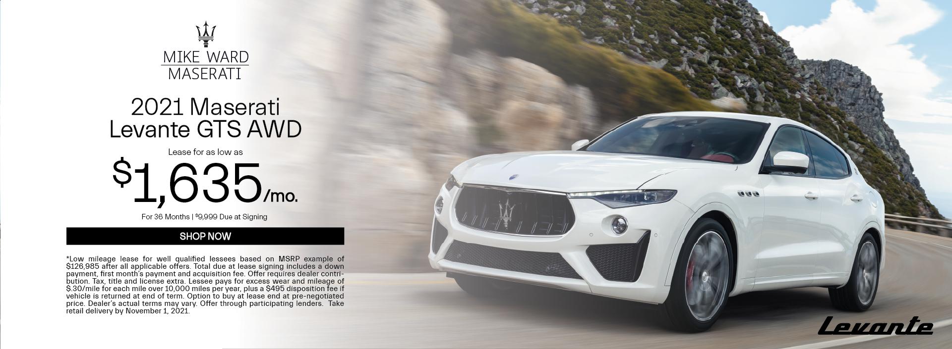 2021 Maserati Levante GTS