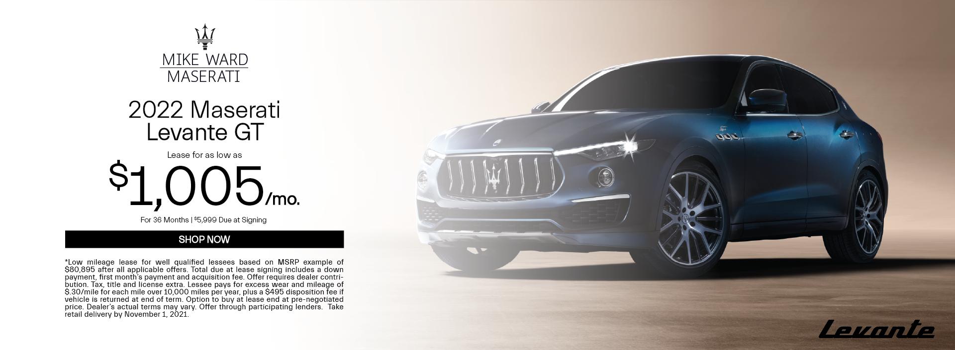 2022 Maserati Levante GT