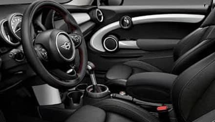 mini black interior