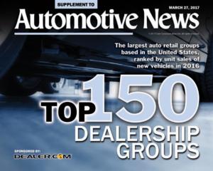 Morgan Auto Group Reaches Top 50 On Automotive News Top 150 Dealer