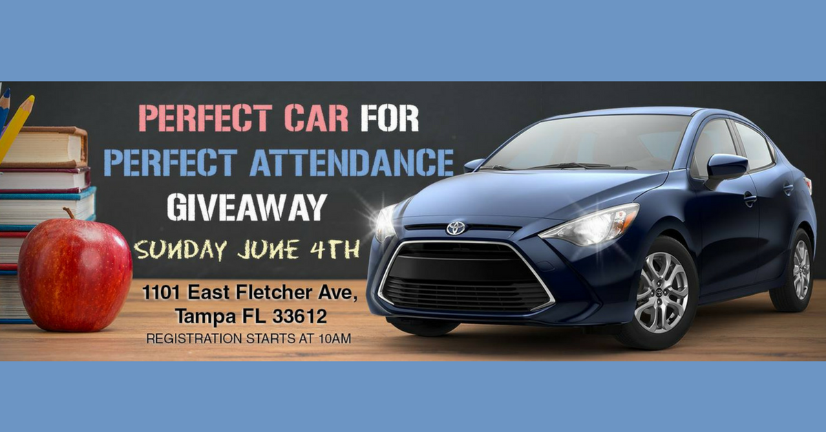 Car Giveaway Recognizes Students Perfect Attendance