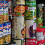 non-perishable donations, canned goods