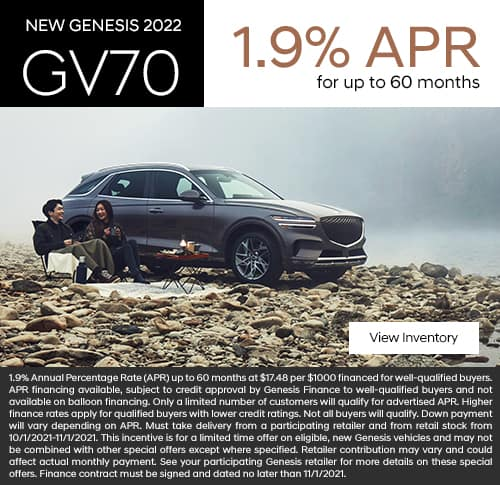 New 2021 Genesis GV70