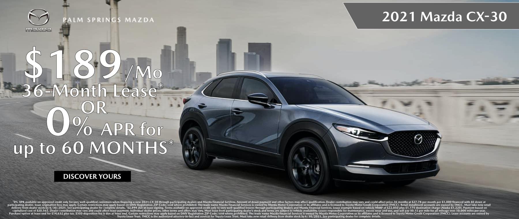 June_2021 Mazda CX-30
