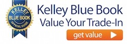 Kelley Blue Book Value Your Trade-In CTA Button