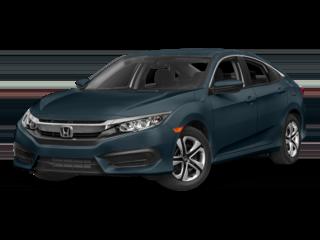 New 2017 Honda Civic LX Sedan