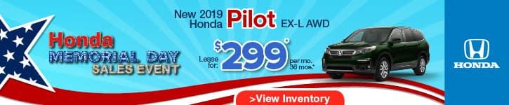 Honda Pilot Lease Offer May