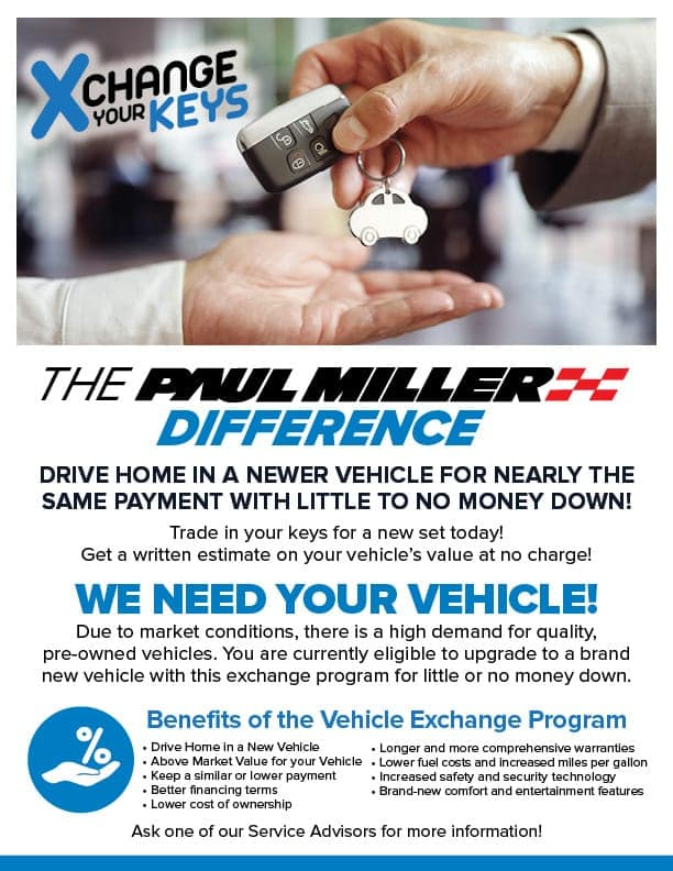 PaulMillerHonda_Vehicle Exchange