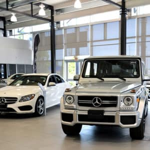 Performance Mercedes-Benz Showroom