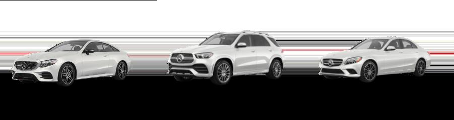 Mercedes-Benz vehicles Lineup
