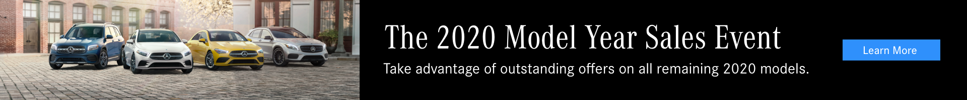 2020 Model Year Sales Event