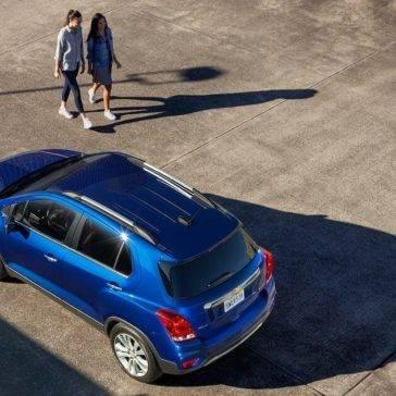 2017 Chevrolet Trax birds eye view