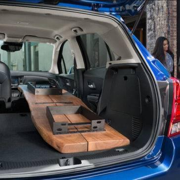 2017 Chevrolet Trax cargo space