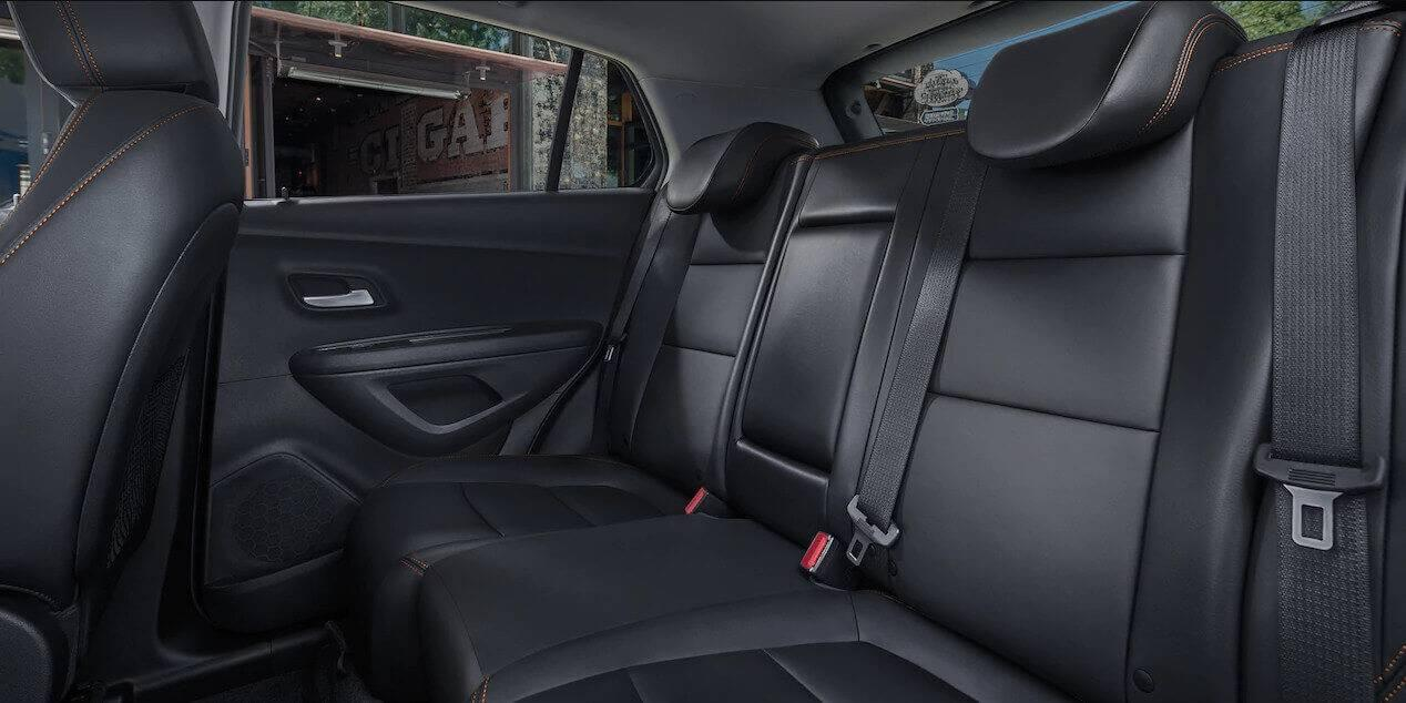 2017 Chevrolet Trax rear seating