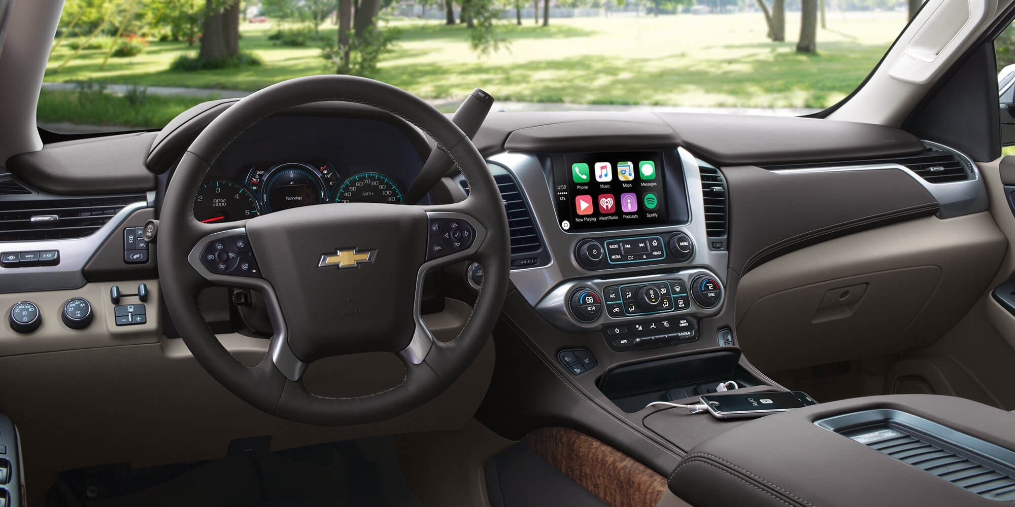 2017 Chevrolet Suburban Dash and Console