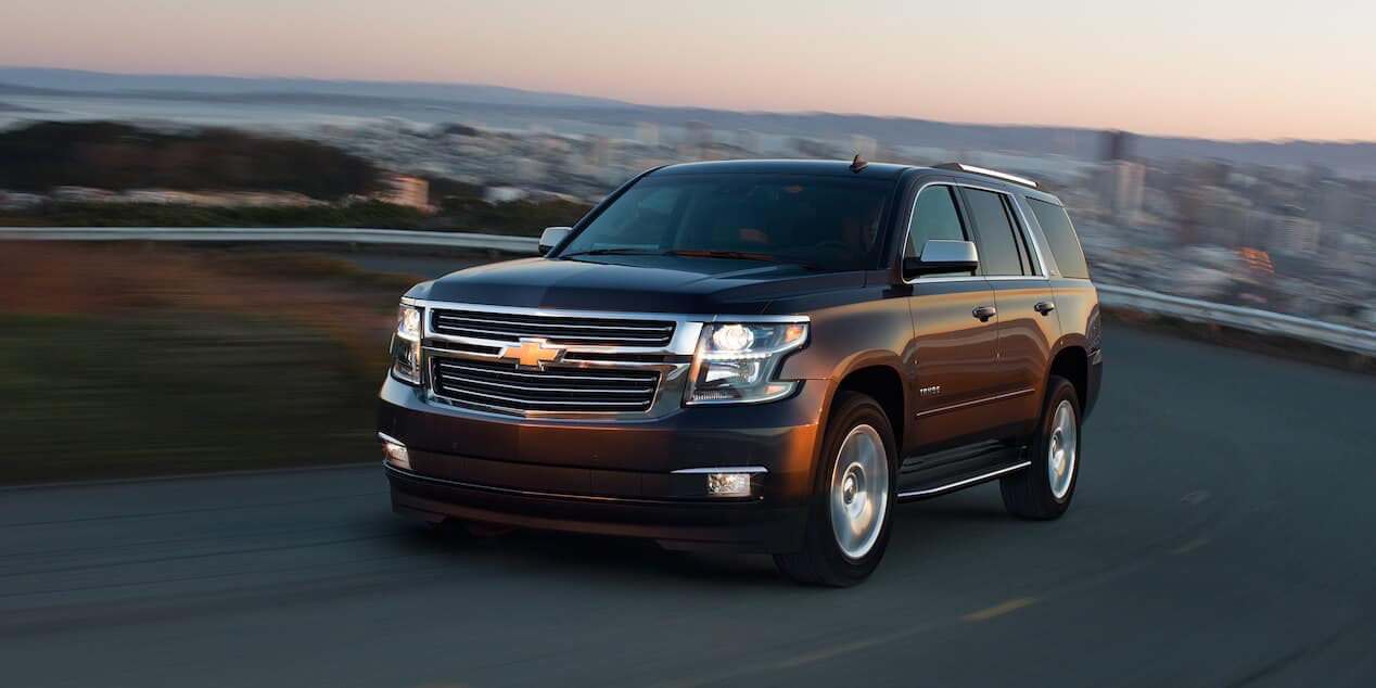 2018 Chevrolet Tahoe city view