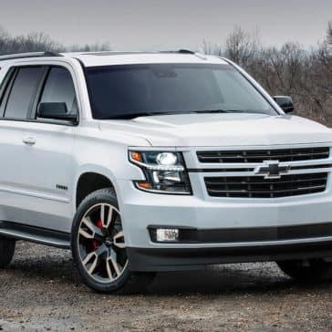 2018 Chevrolet Tahoe white