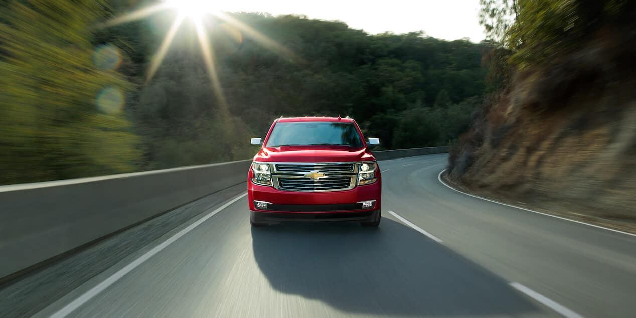 2018 Chevrolet Tahoe driving