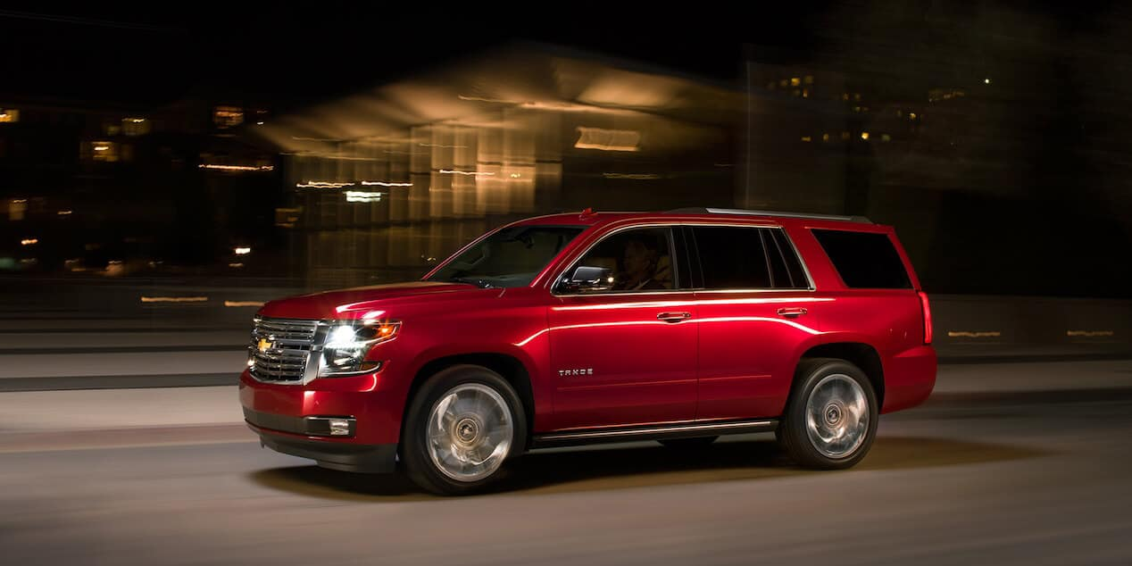 2018 Chevrolet Tahoe side view
