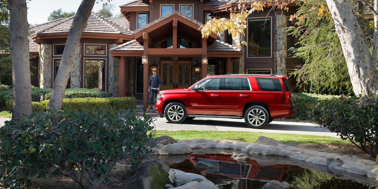 2018 Chevrolet Tahoe at home