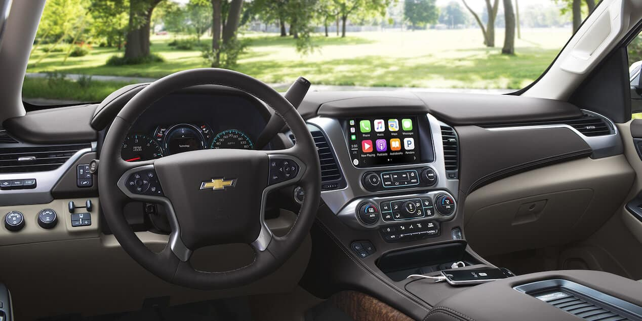 2018 Chevrolet Tahoe controls