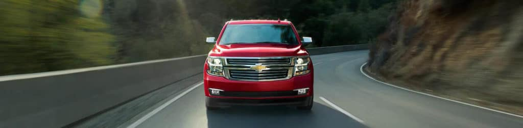 2018 Chevrolet Tahoe red