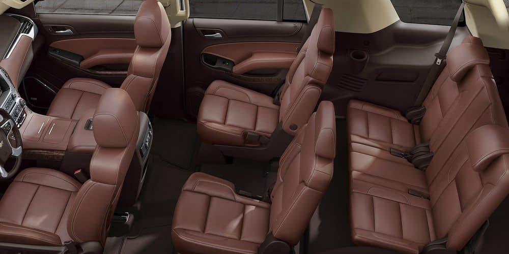2019 Chevy Tahoe Seating