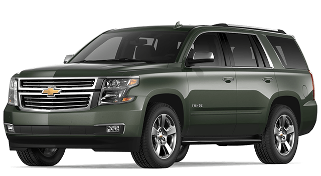2019 Chevy Tahoe Green