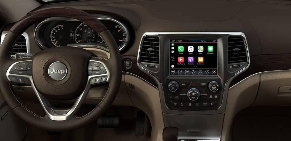 2018 Jeep Grand Cherokee Apple Carplay