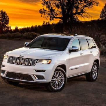 2018 Jeep Grand Cherokee Parked