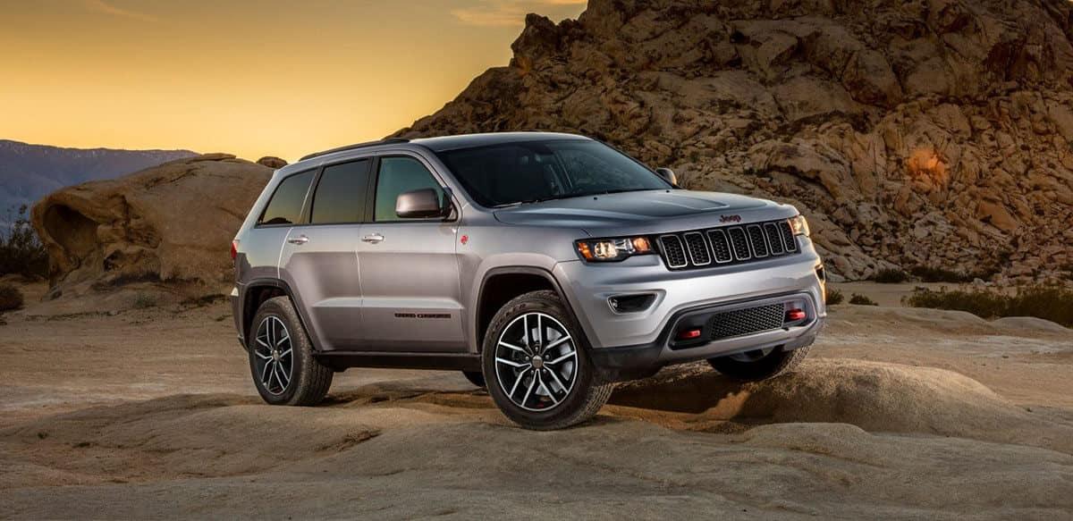 2018 Jeep Grand Cherokee Silver